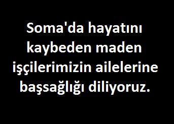 Soma için adalet istiyoruz!