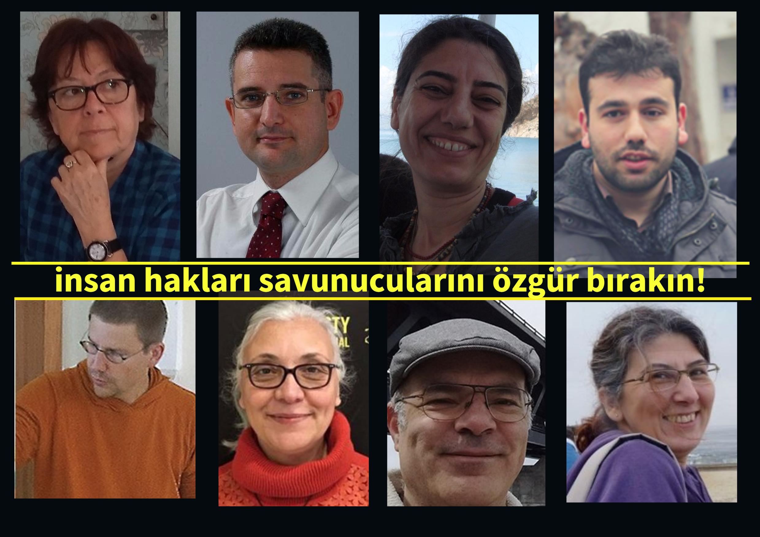 İnsan Hakları Savunucularına Yönelik Keyfi Tutuklamaya Son Verin!